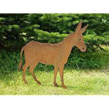 Albert Hechinger Edelrost Esel groß