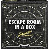 Mattel Games FWK72 – Escape Room In A Box varulg-experiment strategispel lämplig för 2 – 8 spelare, speltid under 60 minuter,