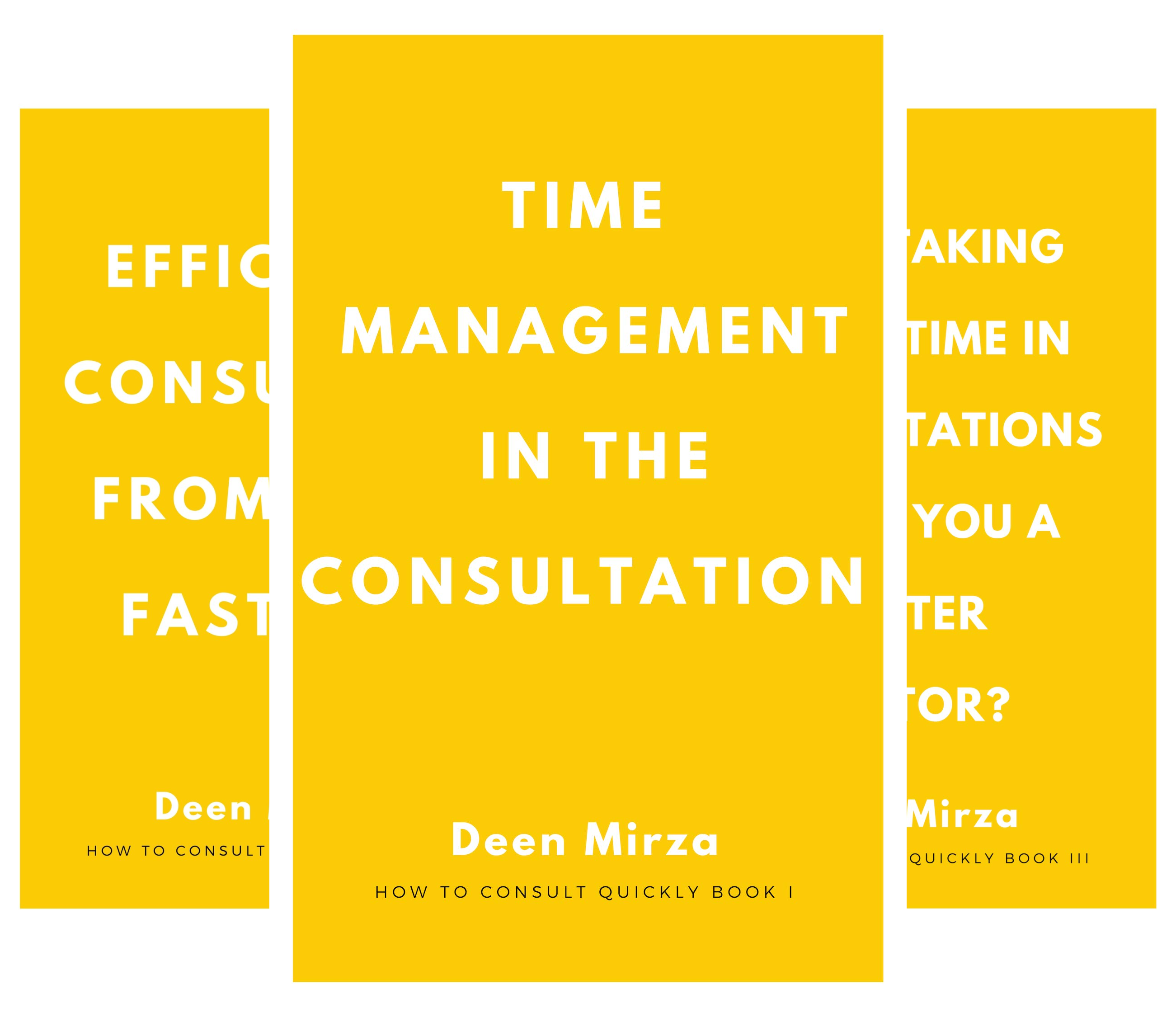 How to consult quickly (3 Book Series)