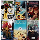 Set of 6 Marvel comics