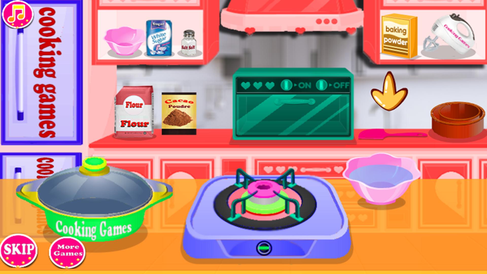 Kochen Mädchen bereiten Kuchen Spiele: Amazon.de: Apps für