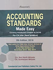 Accounting Standards Made Easy CA Inter (New syllabus)