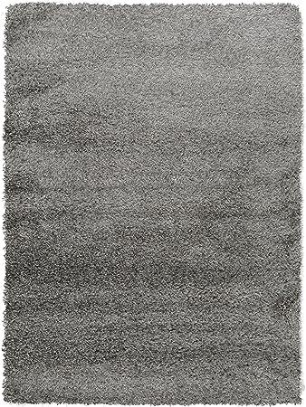 Benuta Shaggy Hochflor Teppich Sophie Grau 140x200 Cm