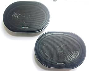 Blaupunkt Car 6X9 Inches 2-Way Co-axial Oval Speakers-Pure Coaxial 692