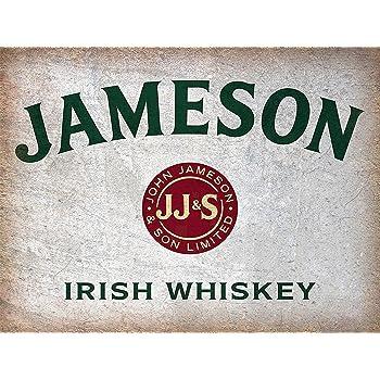 Retro Metal Plaque//Sign Pub Man Cave Novelty Gift Jameson Bar