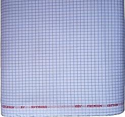 Men's 100% Fine Cotton Shirt Fabric (Unstitched) - by Raymond