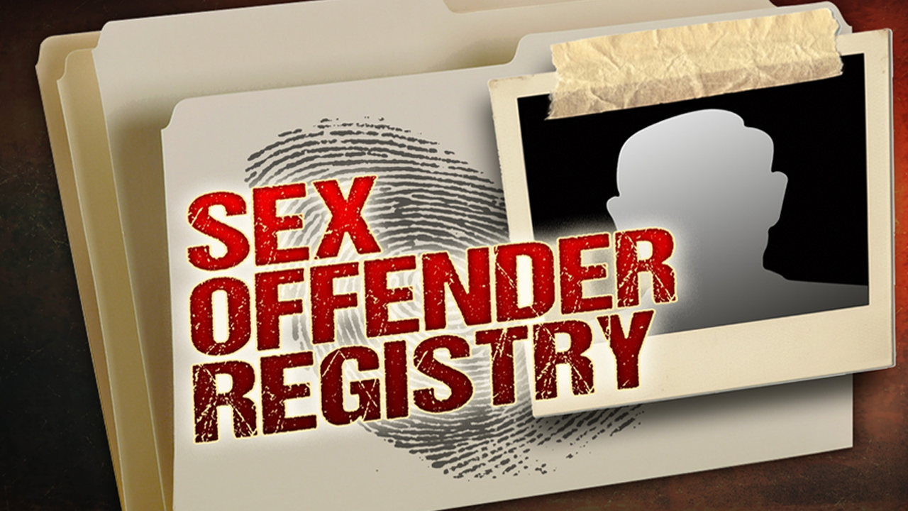 Sex offener registry