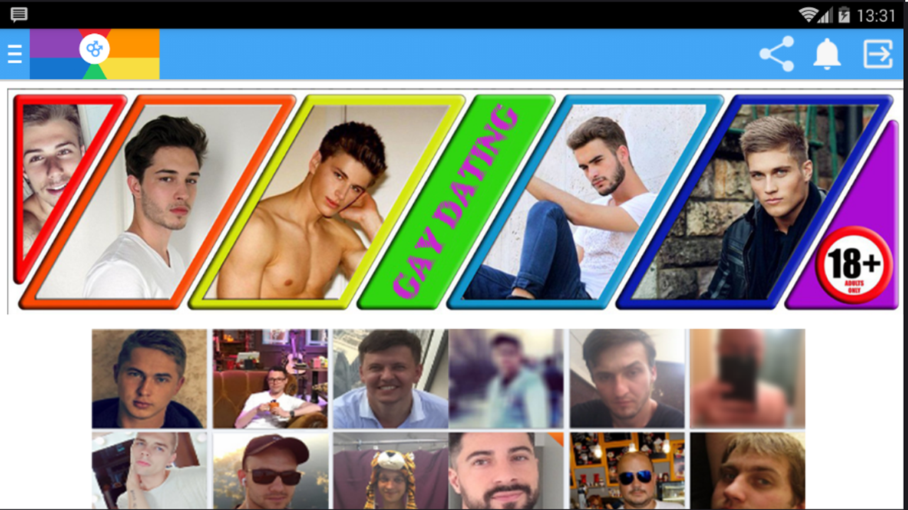 incontri gay per Android