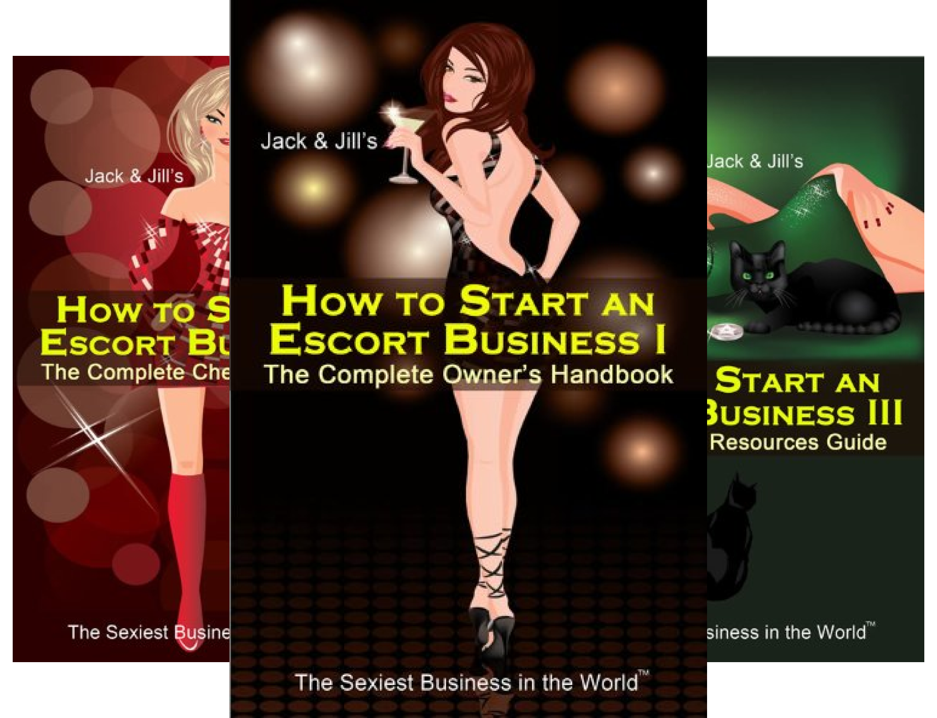 The Sexiest Business in the World (3 Book Series)