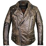MDM Men's Jacket brown Vintage Brown S