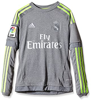 Adidas Real Madrid Maillot à manches longues enfant: : Sports et Loisirs