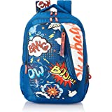 Skybags Figo Plus 05 36 Ltrs Blue Casual Backpack