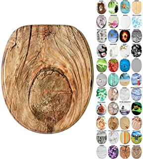 Sedile WC con chiusura ammortizzata grande scelta di belli sedili WC da legno robusto e di alta qualit/à Gufo