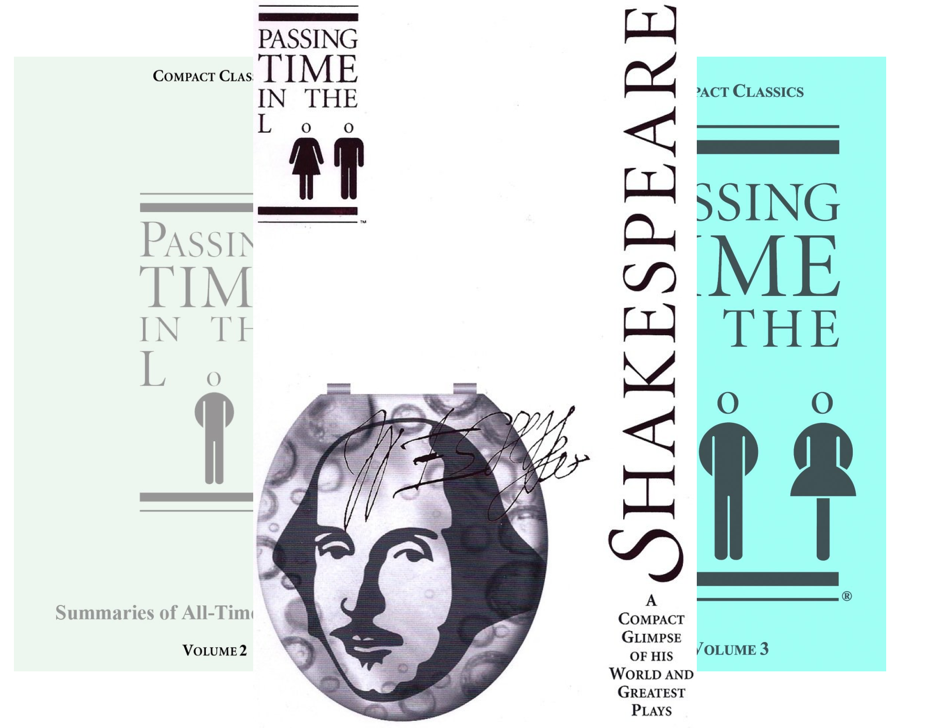 SUMMARIES OF ALL-TIME GREAT BOOKS: Passing Time in the Loo (3 Book Series)
