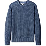 Marchio Amazon - Goodthreads - maglione a girocollo da uomo, in morbido cotone a costine