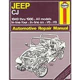 Jeep C.J.1949-86 Owner's Workshop Manual (USA service & repair manuals)