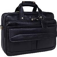 LV Genuine Leather |Cross Body Laptop Bag| for Men & Women |15.6'' Laptop Compartment| |Expandable Features| |MackBook…