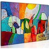 B&D XXL murando Impression sur Toile intissee 100x70cm 1 Piece Tableau Tableaux Decoration Murale Photo Image Artistique Phot