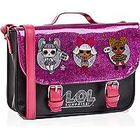 L.O.L. Surprise ! LOL Dolls Handbag For Girls Featuring Glitterati Doll Unicorn, Diva, Queen Bee | Black & Pink Kids…
