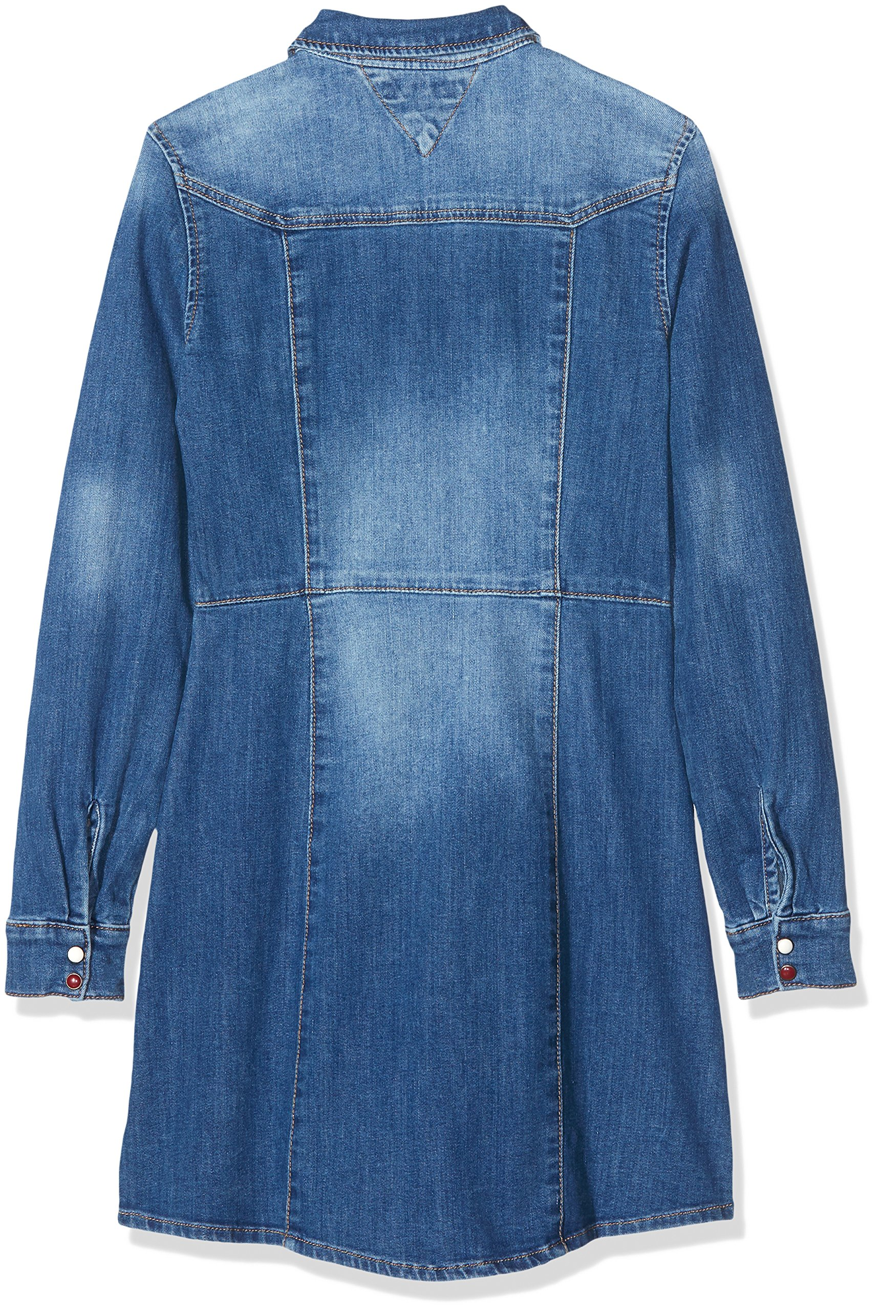 Tommy Hilfiger Denim Shirt Dress Dbstr suéter para Mujer