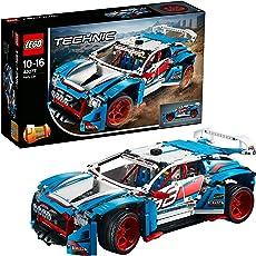 LEGO Technic 42077 - Rallyeauto, Set für geübte Baumeister