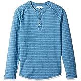 Goodthreads Herren Wildleder-Henley-Pullover aus Jersey Langarm Marke