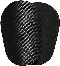 Schienbeinschoner-Polster | 3D-Carbon | leicht, klein, dünn, weich und bequem | Gute Flexibilität | Rutschfest | Kein Schutz |