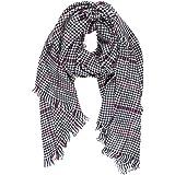 Melifluos Bufanda Pañuelo cuello de invierno suave de mujer con tacto de cashmere