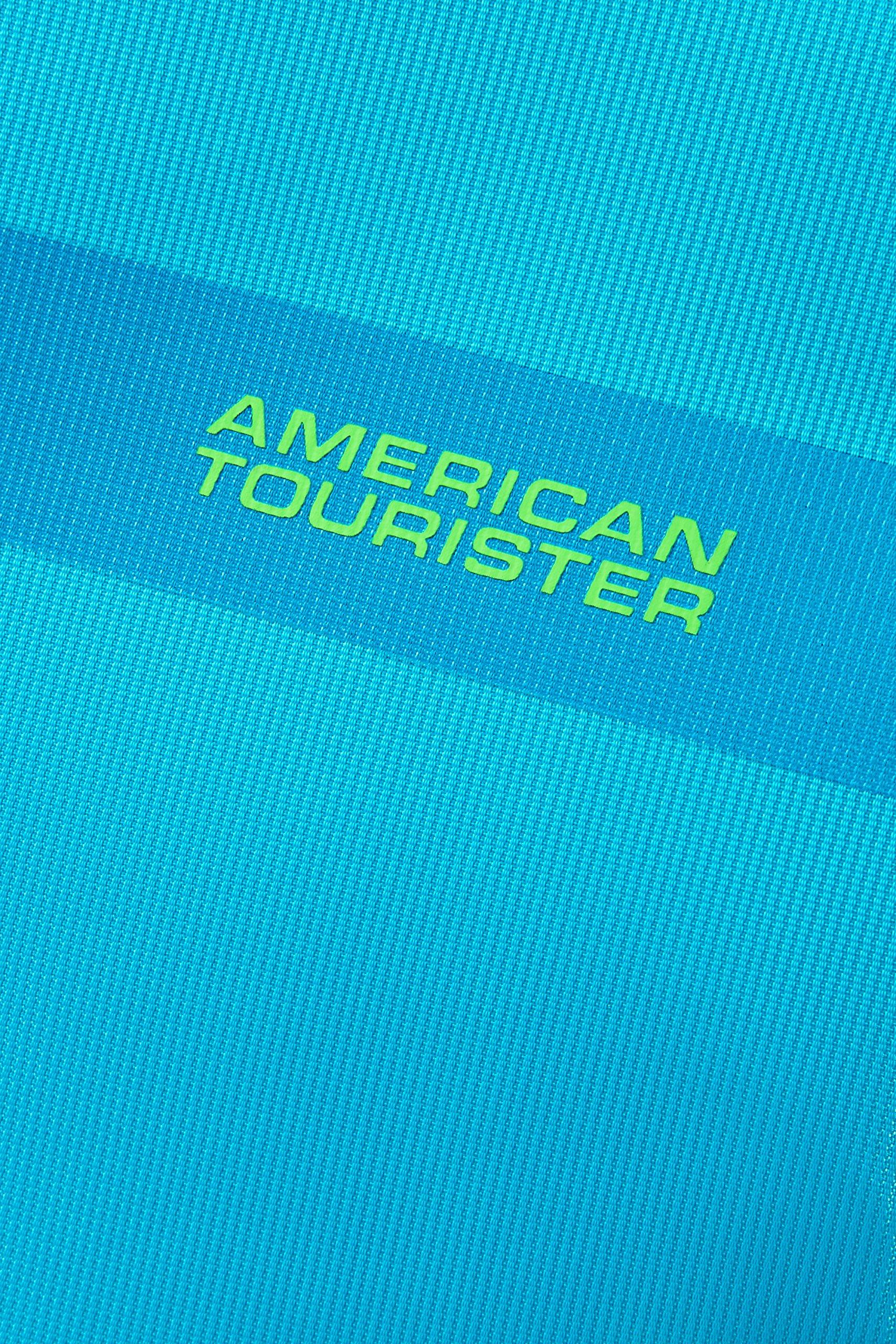 A1j5JUvH18L - American Tourister Herolite Maleta, Azul (MIDNIGHT BLUE), S EXP (55cm-42L)