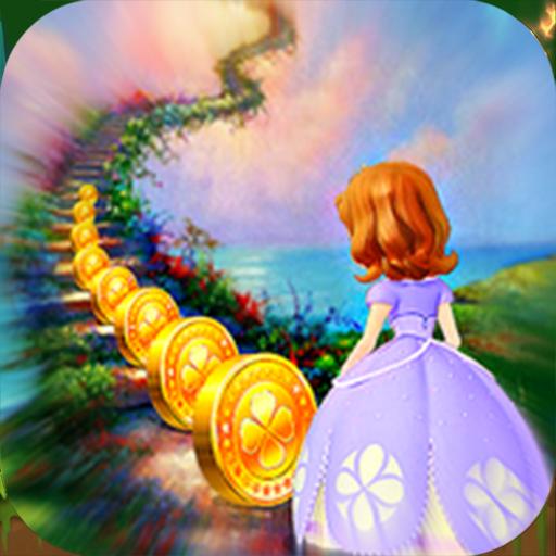 Sofia the first Princess Sofia Run Paradise Magic World - The First Adventure