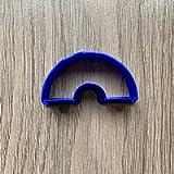 Half Round Donut polymer clay cutter