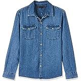 Tommy Hilfiger Boys Basic Shirt Bmr Blusa para Niños