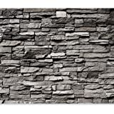 murando - Fototapete Steinwand 400x280 cm - Vlies Tapete - Moderne Wanddeko - Design Tapete - Wandtapete - Wand Dekoration - Steintapete Steine Stein Mauer Steinoptik 3D f-B-0020-a-a