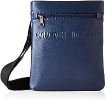 Calvin Klein - Micro Pebble Eu Flat Pack, Borse a spalla Uomo