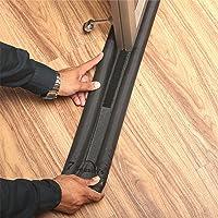 7 Season's |36 inches Black| Portable Under Door Draft Stopper-Twin Door Draft Blocker Guard, Double Sided,Machine…