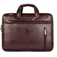 The Clownfish Faux Leather Laptop Briefcase