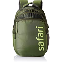 SAFARI 28.5 Ltrs Green Laptop/Casual/School/College Backpack with USB Charging (CAMP19CBGRN)