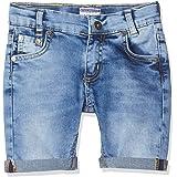 Salt & Pepper Shorts Saum Gekrempelt Jeans para Niños