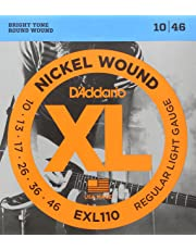 D'Addario EXL110 Electric Regular Light Guitar Strings (Bronze)