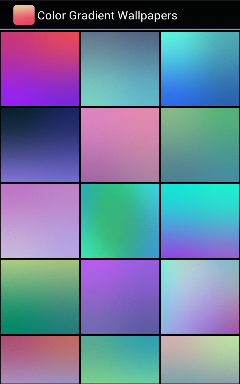 Color Gradient Wallpapers Amazon De Apps Fur Android