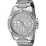 GUESS 48MM Crystal Embellished Watch