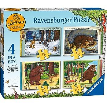 Ravensburger The Gruffalo 4 in Box (12, 16, 20, 24pc) Jigsaw Puzzles
