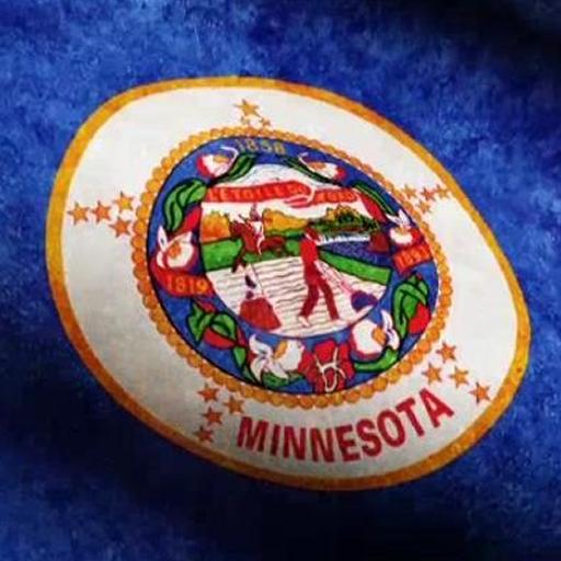 Minnesota Flag Live Wallpaper -