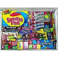 50 American Sweets Large Box Candy Gift - Swedish Fish