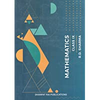 Mathematics for Class 9 by R D Sharma (Examination 2020-2021)