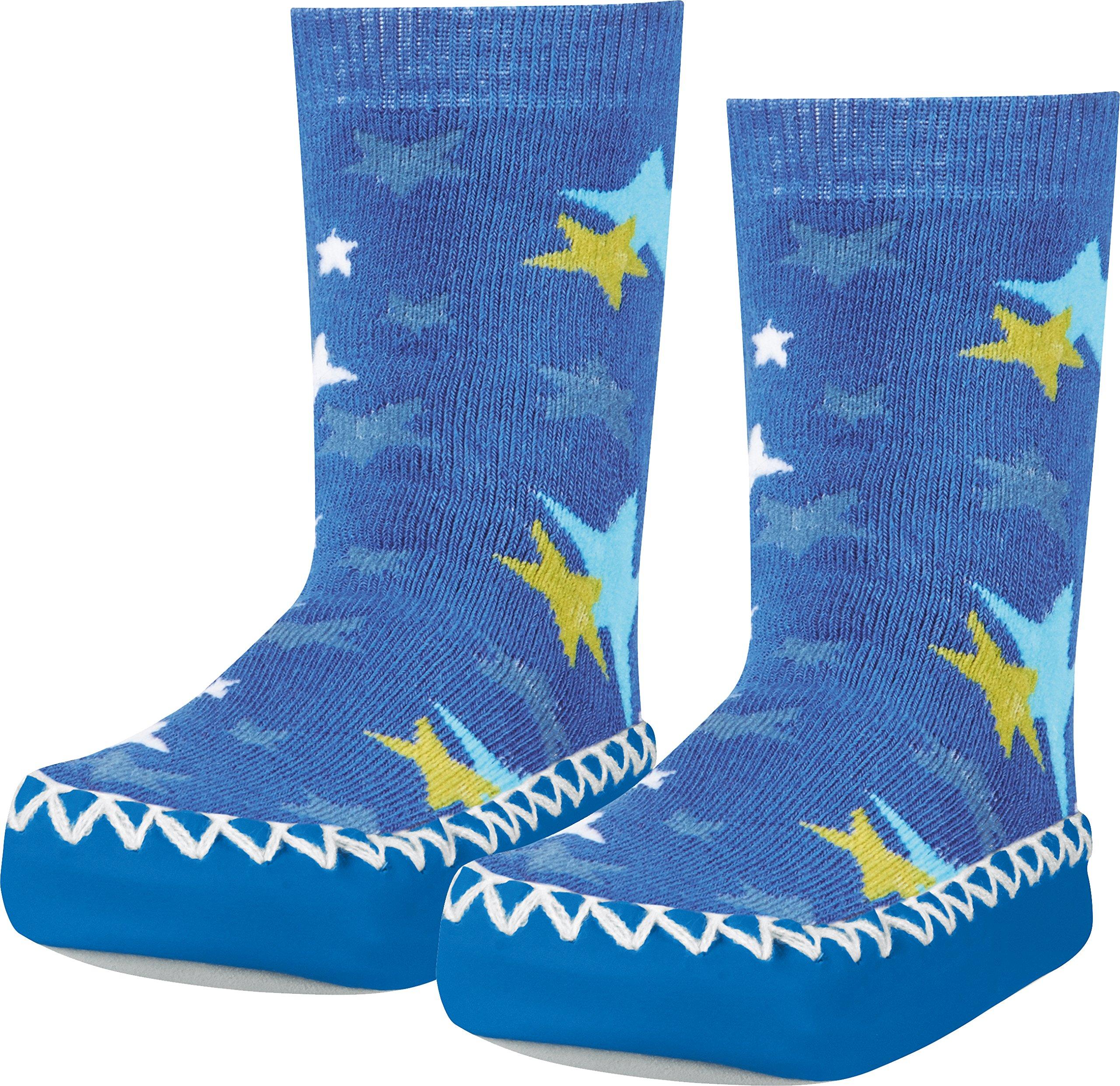 Playshoes Zapatillas Con Suela Antideslizante Estrellas Pantuflas Unisex Niños 2