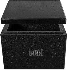 Styroporboxen in verschiedenen größen. 2 bis 88 Liter L-XXL Isolierbox Thermobox Kühlbox Warmhaltebox Weiß und Schwarz in Profiqualität