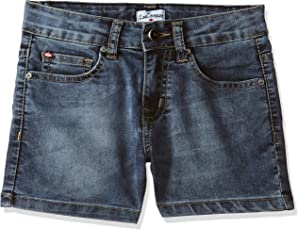 Lee Cooper Girls' Straight Jeans
