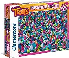 Clementoni 39369 Impossible Puzzle Trolls 1000 Parça