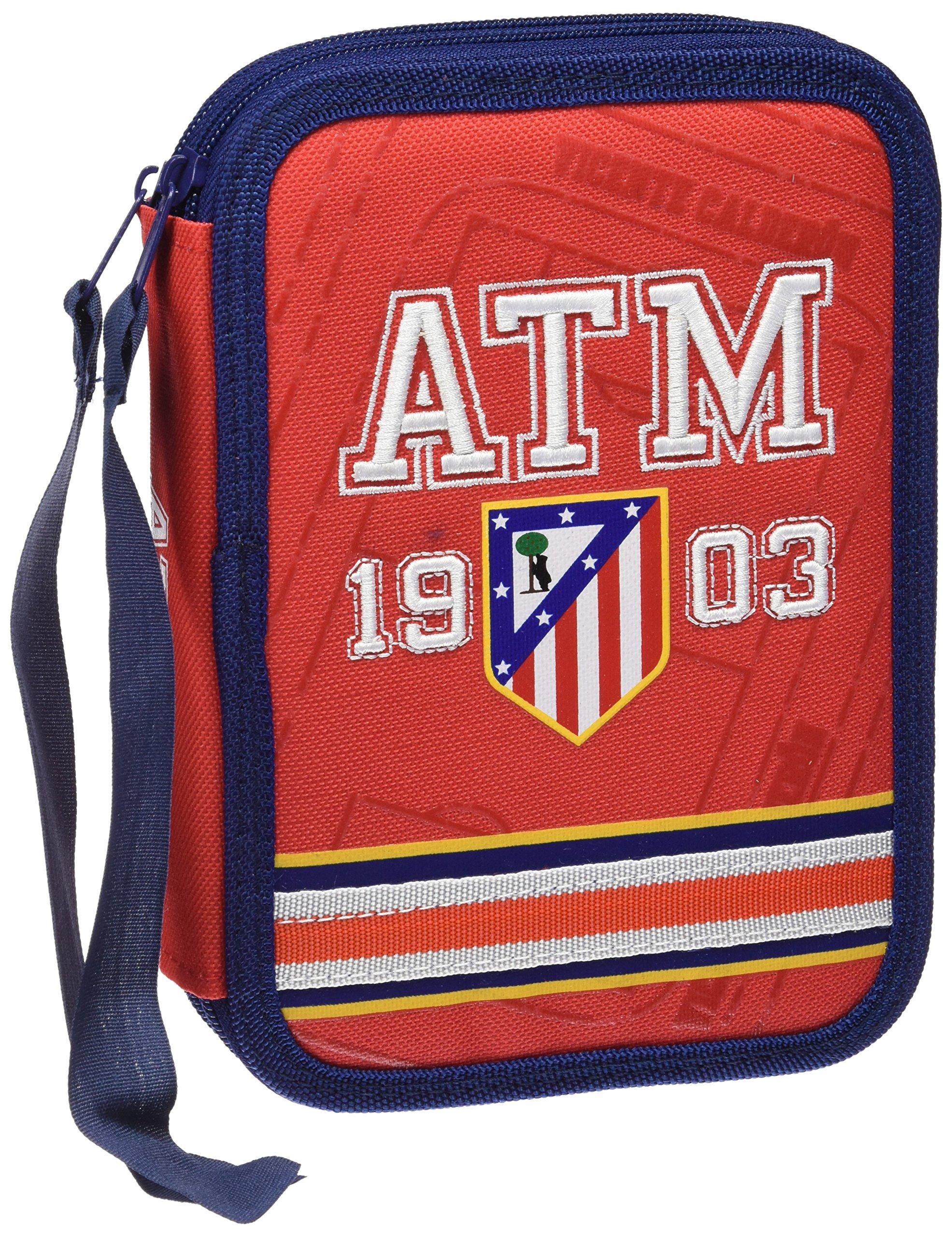 Atletico de Madrid EP-211-ATL – Plumier, 2 pisos, multicolor
